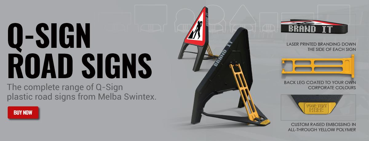 Melba Swintex Q-Signs