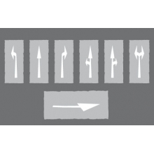 Hotline Preformed Arrows White