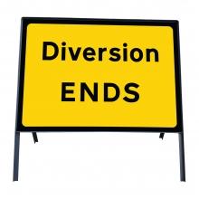 Diversion Ends Metal Sign Face (P2702)