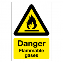Danger Flammable Gases