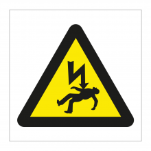 Danger Of Death Symbol Sticker