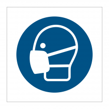 Face Mask Symbol Stickers