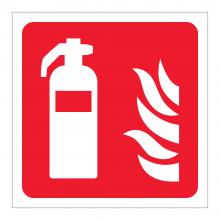 Fire Extinguisher Symbol Sticker