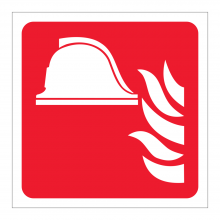 Fire Point Symbol Sticker