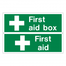 First Aid Box / First Aid Sign (2up)