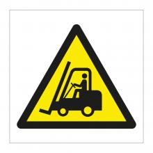 Forklift Truck Symbol Sticker