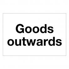Goods Outwards Sign