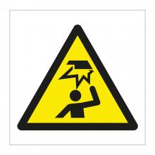 Mind Your Head Symbol Sticker