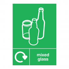 Mixed Glass Waste