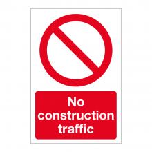 No Construction Traffic