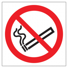 No Smoking Symbol Sticker