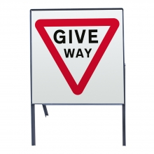 Give Way Metal Sign Face (P602)