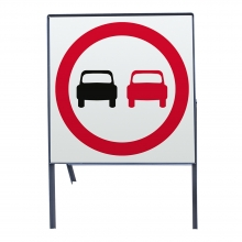 No Overtaking Metal Sign Face (P632)