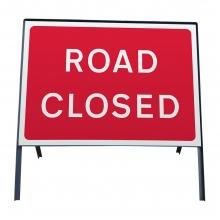 Road Closed Metal Sign Face (P7010.1)