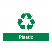 Plastic Waste Sign