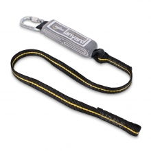 Ridgegear RGL1 Single Leg Shock Absorbing Lanyard