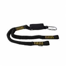 Ridgegear RGL9 Twin Leg Elasticated Shock Absorbing Lanyard