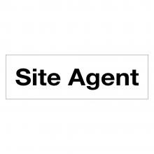 Site Agent Sign