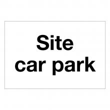 Site Car Park Sign