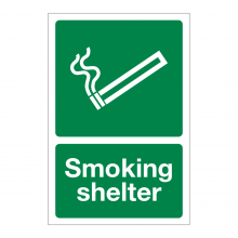 Smoking Shelter Sign