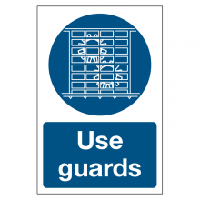 Use Guards Sign