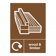 Wood & Timber Waste Sign
