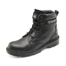 Click CF2BL Black Smooth Leather 6 Inch Boot UK6
