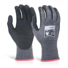 Click Kutstop KS5 Micro Foam Nitrile  Cut Resistant Gloves Size 9/L
