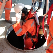 Confined Space High Risk & Rescue - Reassessment (City & Guilds 6150-03/05)