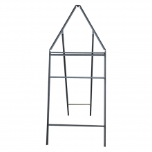 Triangular Long Legs with Supp Metal Road Sign Frame
