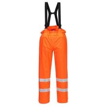 Portwest S780 Bizflame Rain Hi-Vis Orange Antistatic FR Trousers Size XL