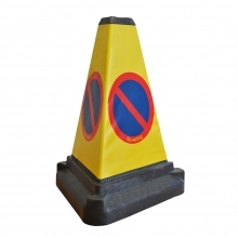 3 Sided Bollard Traffic Cone