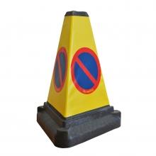 3 Sided Bollard Traffic Cone