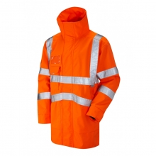Leo Clovelly Hi-Vis Breathable Executive Anorak