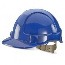 Click BBVSH Blue Vented Comfort Safety Helmet