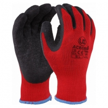AceGrip-RP Latex Grip Gloves Black/Red
