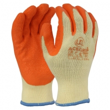 AceGrip-RP Latex Grip Gloves Orange/Yellow