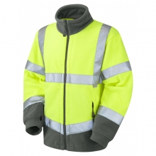 Leo Hartland Hi-Vis Fleece Jacket