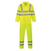 Portwest E042 Hi-Vis Polycotton Coverall
