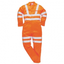 Portwest RT42 Hi-Vis Polycotton Coverall