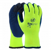 KoolGrip Yellow Thermal Latex Gloves