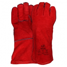 WGR Red Welders Gauntlet Gloves