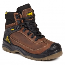 Apache Ranger Brown Safety Hiker Boot