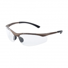 Bolle Contour Safety Glasses with Clear Lenses