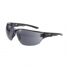 Bolle Ness Safety Glasses with Smoked Lenses