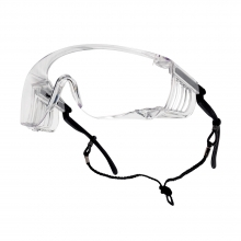 Bolle Squale Safety Glasses with Clear Lenses