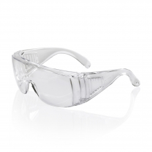 Click Boston Safety Glasses with Clear Lenses