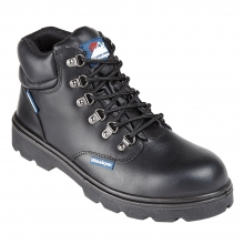 Black Fully Waterproof Safety Boot