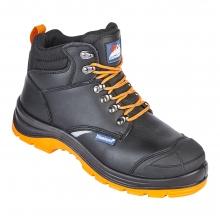 Reflecto Black Waterproof Safety Boot