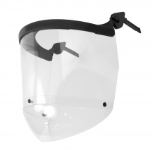 JSP Surefit Visor Carrier with 17.5cm Acetate Visor and Chinguard